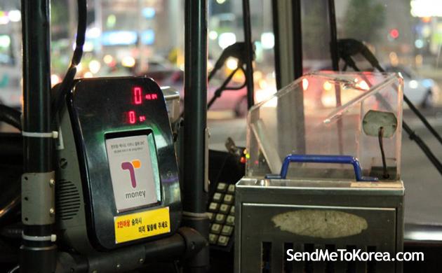 Jika naik bus, makan cardnya di tempelkan di readernya